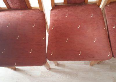 Pranie i czyszczenie krzeseł
